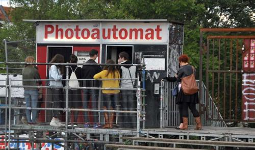 Photo Booth in Warschauer Strasse